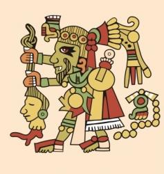 aztec vector image