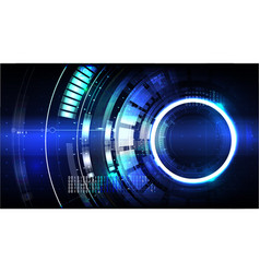 technological futuristic modern interface vector image