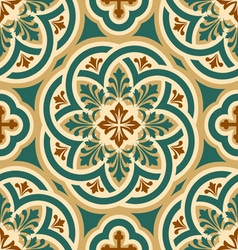 Ornament byzantine seamless vector