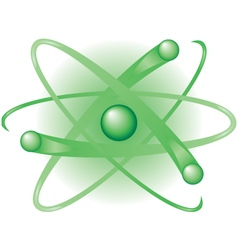 Green atom clean energy vector