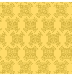Texture on yellow element for design vector