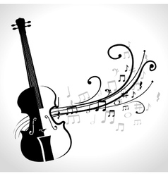 Classical violin isolated icon design vector