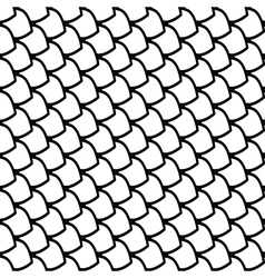 Seamless fish scales pattern vector