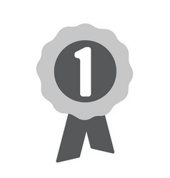 First place award icon one of set web icons vector