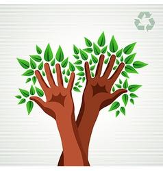 Environmental care concept vector image