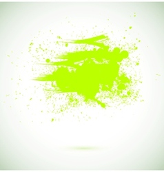 Abstract background grunge paint banner vector