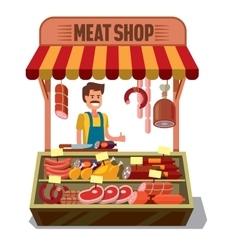 Butcher shop vector