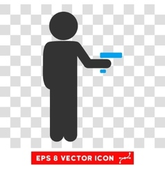 Child robber eps icon vector