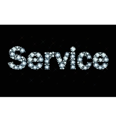 Diamond word service vector