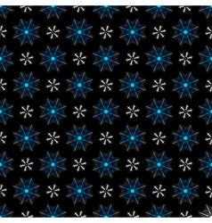 Seamless christmas dark pattern vector image vector image