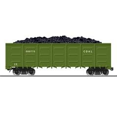 Coal Train vector image vector image