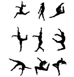 Dance vector image vector image