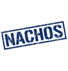 Nachos stamp vector