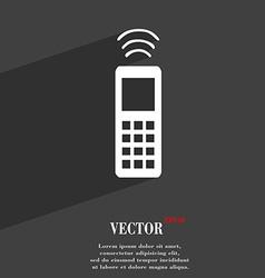 remote control icon symbol Flat modern web design vector image vector image
