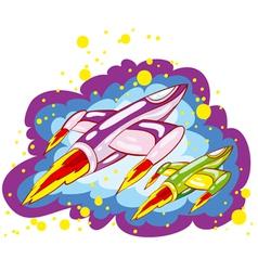 Spacecrafts vector