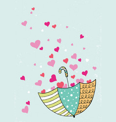 valentine cards trendy cards for valentines day vector image vector image