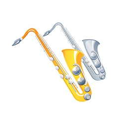 Icon saxophone vector