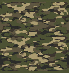 Forest texture background seamless camouflage vector