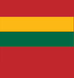 Lithuania flag vector