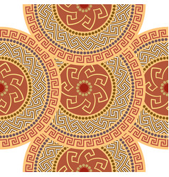 Greek seamless ornament vector