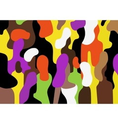 People - abstract background vector