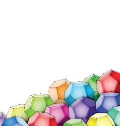 dodecahedron vector image