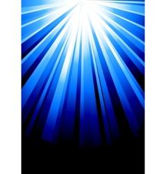 beautiful blue design template vector image vector image