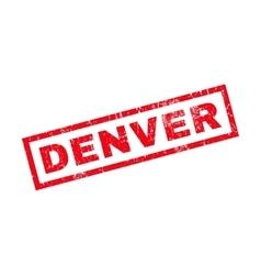 Denver rubber stamp vector