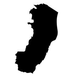 Map of espirito santo vector