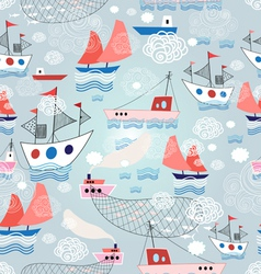 Color pattern with different ship vector