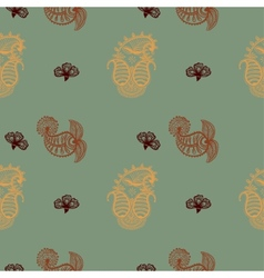 Ethnic seamless pattern indian ornament vector