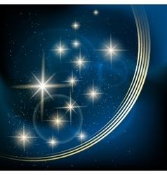 Stellar background vector image