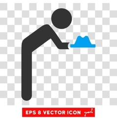 Child servant eps icon vector