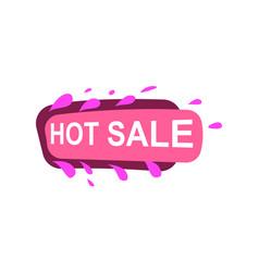 hot sale speech bubble for retail promotion vector image