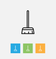 Of cleaning symbol on vector