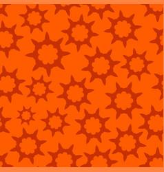 Orange seamless looped pattern vector