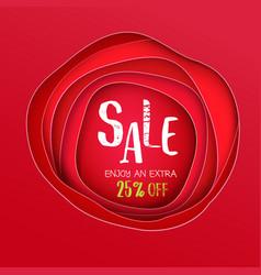 sale inscription background vector image