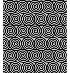 Seamles with spirals vector image vector image
