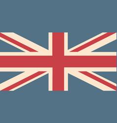 uk flag background vector image