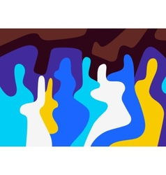 Abstract people vector