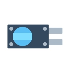 Lock icon isolated on white vector