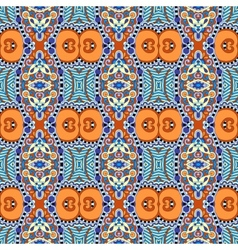 authentic seamless geometry vintage pattern vector image