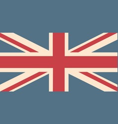Uk flag background vector