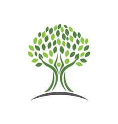 Love Family care protection symbol icon logo desig vector image