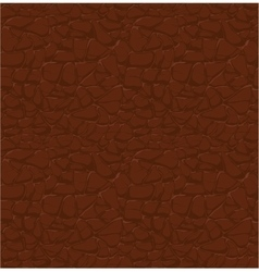 brown leather pattern seamless relief vector image