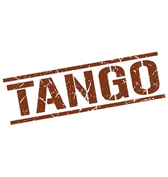 Tango stamp vector
