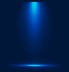 abstract luxury blue gradient with lighting vector image vector image
