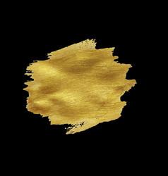 golden blot banner vector image vector image