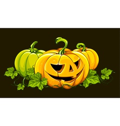 Halloween picture vector image vector image