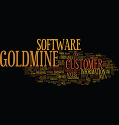 The new goldmine enterprise text background word vector